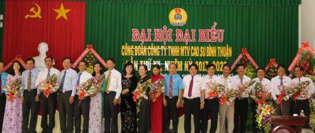 BCH Công đoàn Công ty ra mắt đại hội