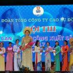 Chị Châu Ngọc Diệp đoạt giải cán bộ nữ công xuất sắc Cao su Đồng Nai