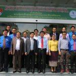 VRG tiếp đoàn cán bộ cấp cao TW Đoàn Thanh niên Lào