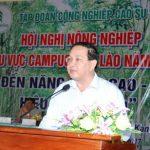 """""""Trồng cao su tại Campuchia không chỉ vì kinh tế mà còn chăm lo đời sống người dân"""""""