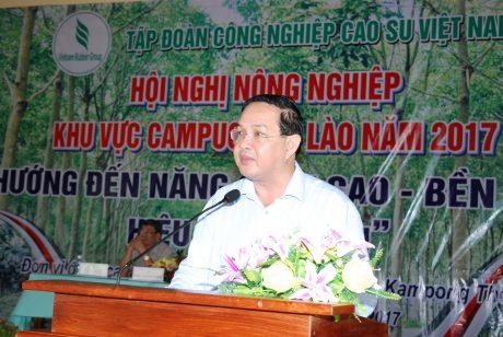 Phó TGĐ VRG Trương Minh Trung.