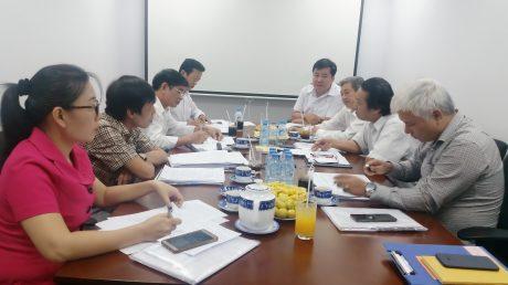 VRG làm việc với đoàn công tác  Bộ Nông nghiệp và Phát triển nông thôn