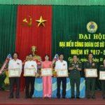 Công ty 74 phấn đấu trao tặng 10 nhà Mái ấm Công đoàn