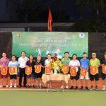 14 vận động viên tham gia giải quần vợt chào mừng ngày Doanh nhân