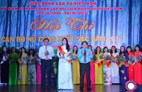 Chị Châu Ngọc Diệp - TCT CS Đồng Nai đoạt giải nhất