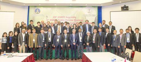Chủ tịch, Tổng Thư ký và các quốc gia thành viên ANRPC tại phiên bế mạc kỳ họp