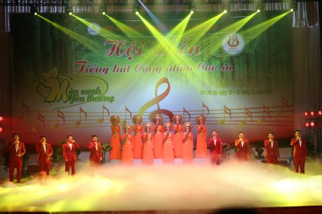 Hợp xướng Tổ quốc yêu thương của Công ty TNHH MTV CS Phú Riềng