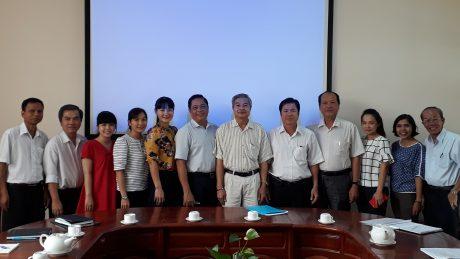Lãnh đạo công ty và cán bộ nhân viên Phòng Tổ chức Cán bộ sau sáp nhập