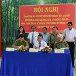 Cao su Lộc Ninh tăng cường phối hợp đảm bảo an ninh trật tự