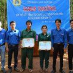 Đoàn Thanh niên Cao su Lộc Ninh khen thưởng thi đua nước rút 1 triệu đồng/tập thể