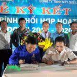 Đoàn Thanh niên Quasa Geruco và Quế Lâm miền Trung ký phối hợp hoạt động