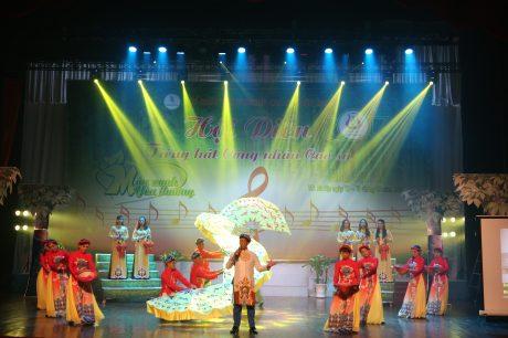 Hội diễn khu vực V mang đến một bức tranh tổng thể về tình yêu quê hương đất nước.