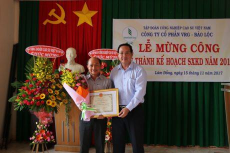Phó TGĐ VRG Trương Minh Trung