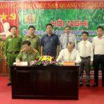Cao su Lai Châu 2 và Công an tỉnh tổng kết quy chế phối hợp
