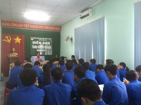 Đông đảo ĐVTN tham dự Diễn đàn