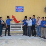 Gắn biển công trình Thanh niên Gỗ Thuận An