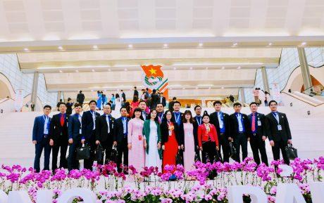Đoàn đại biểu Đoàn Khối DNTW dự Đại hội
