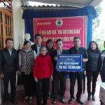 Cao su Quảng Trị trao nhà Mái ấm Công đoàn