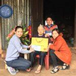 Cao su Mang Yang thăm và tặng quà mẹ Việt Nam Anh hùng