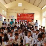 Cao su Phước Hòa tổ chức Xuân tình nguyện tại Kampong Thom
