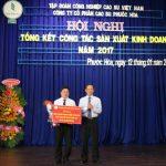 Cao su Phước Hòa thu nhập bình quân hơn 8,7 triệu đồng/người/tháng