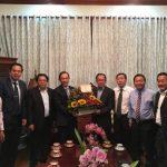 Lãnh đạo VRG chúc Tết tại Campuchia