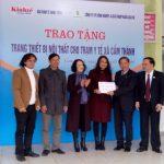 Rubico tặng trang thiết bị cho trạm y tế tỉnh Hà Tĩnh