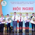 Năng suất lao động Cao su Phú Riềng đạt 7 tấn/công nhân/năm