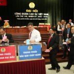 Ông Phan Mạnh Hùng tái đắc cử Chủ tịch Công đoàn Cao su VN