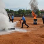 Cao su Chư Păh tập huấn phòng cháy chữa cháy