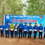 Đoàn thanh niên cao su Chư Păh khởi động tháng thanh niên