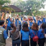 Cao suPhước Hòa tổ chức Hội trại kỹ năng