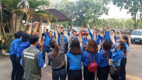 Trại sinh tham gia một số hoạt động.