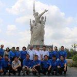Đoàn thanh niên Cao su Phước Hòa về nguồn tại Đồng Tháp