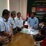 Các công ty cao su chúc Tết cổ truyền Campuchia