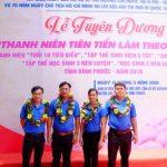 7 thanh niên ngành cao su được tuyên dương Thanh niên tiên tiến