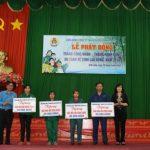 Cao su Bình Long trao 4 căn  nhà Mái ấm Công đoàn