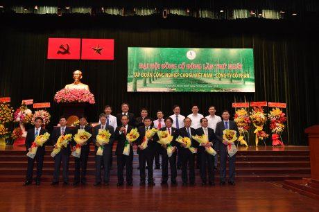 Hội đồng quản trị, kiểm soát viên VRG - Công ty cổ phần ra mắt tại đại hội