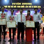 3 công nhân cao su được tuyên dương Người thợ trẻ giỏi toàn quốc
