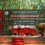 Lai Uyên giải nhất hội thi Bàn tay vàng Cao su Phước Hòa