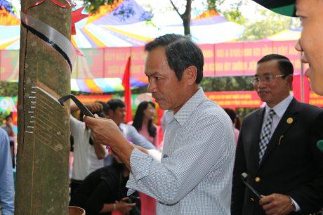 ông Trần Ngọc Thuận – UV BTV Đảng ủy Khối Doanh nghiệp TW, Bí thư Đảng ủy – TGĐ VRG