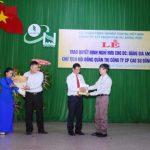 Cao su Đồng Phú: Trao sổ hưu cho ông Đặng Gia Anh