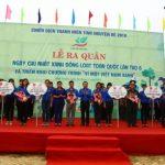 """Bình Phước: Tổ chức chương trình """"Vì một Việt Nam xanh"""" lần 6"""