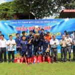Nông trường Đồng Nơ vô địch giải bóng đá U15 Cao su Bình Long