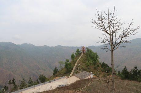 Mỏm tột Bắc, nơi chóp nón của bản đồ Tổ quốc thuộc thôn Séo Lủng, xã Lũng Cú.