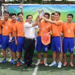 Đoàn thanh niên VRG đăng cai giải bóng đá mini tứ hùng