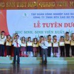 Cao su Phú Riềng tuyên dương 112 học sinh, sinh viên xuất sắc