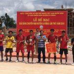 Cao su Sa Thầy vô địch giải bóng chuyền nam huyện Ia H'Drai