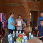 Cao su Tây Ninh trao nhà mái ấm Công đoàn