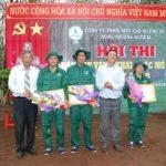 21 công nhân tham gia hội thi tay nghề NT Ia Tiêm (Cao su Chư Sê)